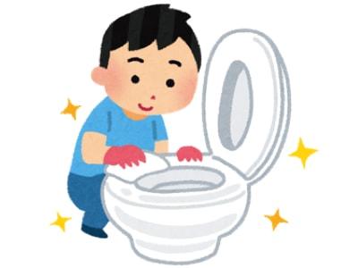 スチームクリーナーでトイレ掃除