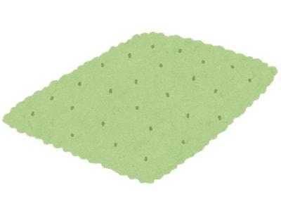 グリーンのカーペット