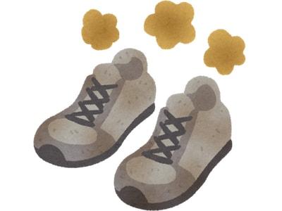 靴の臭いもスチームクリーナーで除去
